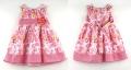 BLUEBERi Floral Pink Dress 彩色花花背心连衣裙