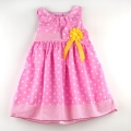 BLUEBERi Polkadot Sunflower Pink Dress 粉色点点背心连衣裙