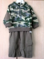 Baby Q Green 2 Pcs Set 迷你彩2件套