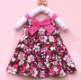 Bonnie Jean Bow Tie Florals Dress 花花蝴蝶洋装