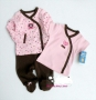 Carter's 3 Pcs Girl Set 粉色3件套-Restock