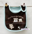 Carter's Baby Waterproof Bib- Brown Bear 口水巾