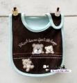 Carter's Baby Waterproof Bib- Brown Bear 口水巾