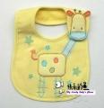 Carter's Baby Waterproof Bib- Yellow Giraffe 口水巾
