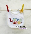 Carter's Baby Waterproof Bib- Love Me 口水巾