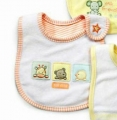 Carter's Baby Waterproof Bib- 3 Little Friends 口水巾