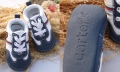Carter's Blue Sporty Crib Shoe 蓝色男生运动鞋