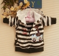 Carter's Giraffe Beep Beep Brown Stripe Jacket长颈鹿条纹外套