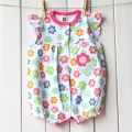Carter's Happy Sunflowers Romper 可爱太阳花平脚哈衣