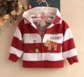 Carter's Little Farm Red Stripe Jacket 小牛牛条纹外套【红】
