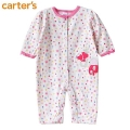 Carter's Mommy Elephant Flower Sleeper 新款小象图案平脚哈衣