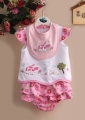 Carter's Moo Moo CowPink 3 Pcs Set 牛牛3件套