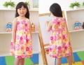 Ciel Blue Orange Flowers Dress 漫画花朵款公主裙