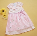 Ciel Princess Pink Chiffon Dress 纯棉纱裙粉色连衣裙(Restock)