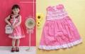 Pagel Sweet Rose Pink Dress 纯棉连衣公主裙玫粉菲边款(Restock)