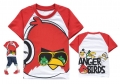 D2BEE Angry Bird Cartoon Tee 卡通愤怒的小鸟纯棉上衣(Design 3)