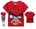D2BEE Angry Bird Cartoon Tee 卡通愤怒的小鸟纯棉上衣(Design 4)