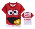 D2BEE Sesame Street Tee 芝麻街卡通上衣 (Design 1)