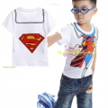D2BEE Superman Cartoon Tee 卡通超人上衣 (Design 1)