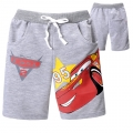 DISNEY Pixar Car Grey Quarters Pant 汽车总动员纯棉毛圈短裤 (Design 6)