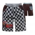 DISNEY Pixar Car Brown Quarters Pant 汽车总动员纯棉毛圈短裤 (Design 8)