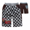 DISNEY Pixar Car Brown Quarters Pant 汽车总动员纯棉毛圈短裤 (Design 8)