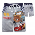 DISNEY Pixar Car Grey Quarters Pant 汽车总动员纯棉毛圈短裤 (Design 9)
