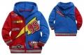 DISNEY Pixar Car Jacket 卡通蓝红色汽车总动员带帽外套 (Design 5)