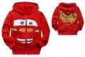 DISNEY Pixar Car Jacket 卡通红色汽车总动员毛圈带帽外套 (Design 4)