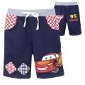 DISNEY Pixar Car Blue Quarters Pant 汽车总动员纯棉毛圈短裤 (Design 10)
