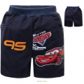 DISNEY Pixar Car Blue Quarters Pant 深蓝色汽车总动员纯棉短裤 (Design 19)