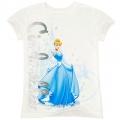 Disney Cinderella White Tee 白雪公主白色卡通上衣