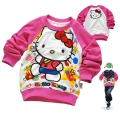 Disney Hello Kitty LS Top 印花纯棉毛圈长袖 (Design 2)
