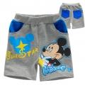 Disney Mickey Grey Quarters Pant 米奇印花花灰短裤 (Design 1)