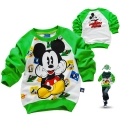 Disney Mickey Mouse LS Top 米奇印花纯棉毛圈长袖 (Design 1)