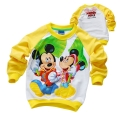 Disney Mickey Mouse LS Top 米奇印花纯棉毛圈长袖 (Design 3)