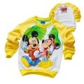 Disney Mickey Mouse LS Top 米奇印花纯棉毛圈长袖 (Design 3)