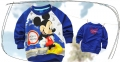 Disney Mickey Mouse LS Top 米奇印花纯棉毛圈长袖 (Design 6)