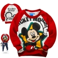 Disney Mickey Mouse LS Top 米奇印花纯棉毛圈长袖 (Design 9)