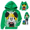 Disney Mickey Mouse LS Top 米奇印花纯棉毛圈长袖 (Design 8)