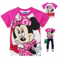 Disney Minnie Cartoon Tee 米妮卡通上衣 (Design 12)