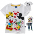Disney Minnie Cartoon Tee 米妮卡通上衣 (Design 19)