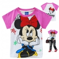Disney Minnie Cartoon Tee 米妮卡通上衣 (Design 20)