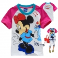 Disney Minnie Cartoon Tee 米妮卡通上衣 (Design 22)