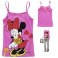 Disney Minnie Cartoon Tee 米尼印花纯棉吊带 (Design 35)