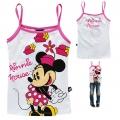 Disney Minnie Cartoon Tee 米尼印花纯棉吊带 (Design 40)-Restock