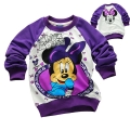 Disney Minnie Mouse LS Top 米尼印花纯棉毛圈长袖 (Design 6)