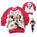 Disney Minnie Mouse LS Top 米尼印花纯棉毛圈长袖 (Design 2)