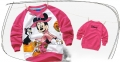 Disney Minnie Mouse LS Top 米尼印花纯棉毛圈长袖 (Design 8)