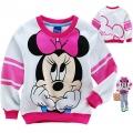 Disney Minnie Mouse LS Top 米尼印花纯棉毛圈长袖 (Design 11)